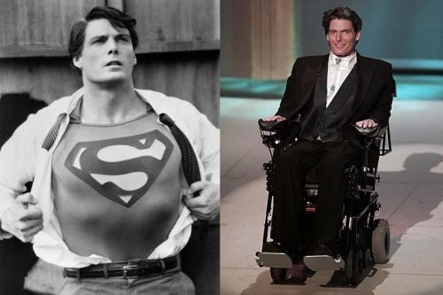 "Actor Christopher Reeve is shown in the title role in the 1983 sequel ""Superman III.""  (AP Photo/TMS & DC Comics Inc.)"