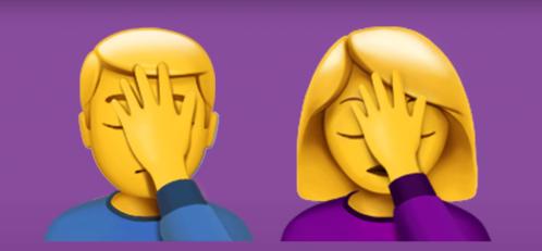 emoticon morado